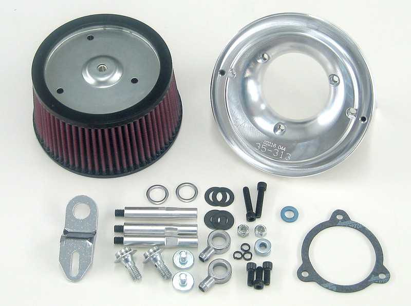 OverFlow Air Cleaner For 08-Up Twin Cam® 64mm S.E. TBW T.B.