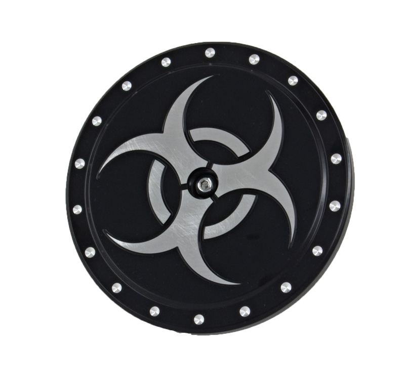 R&R's Billet Air Cleaner Cover (Bio Hazard)