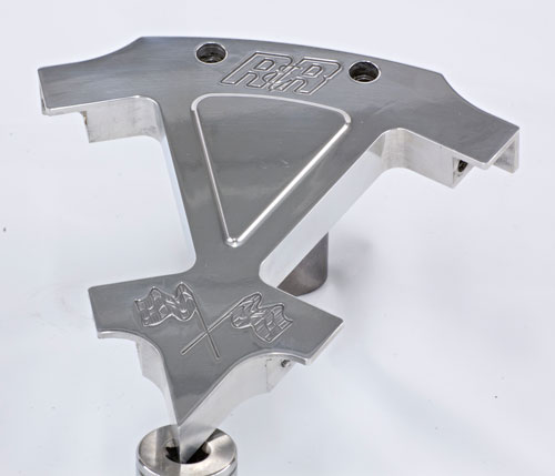 R&R Cycles, Inc. Billet Coil Brackets (Polished)
