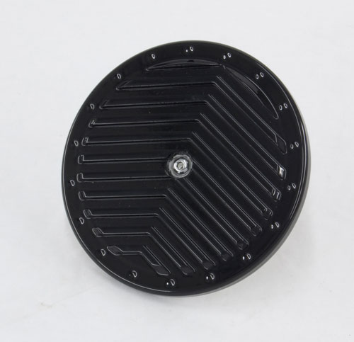 R&R's Billet Air Cleaner Cover (V Ribbed)