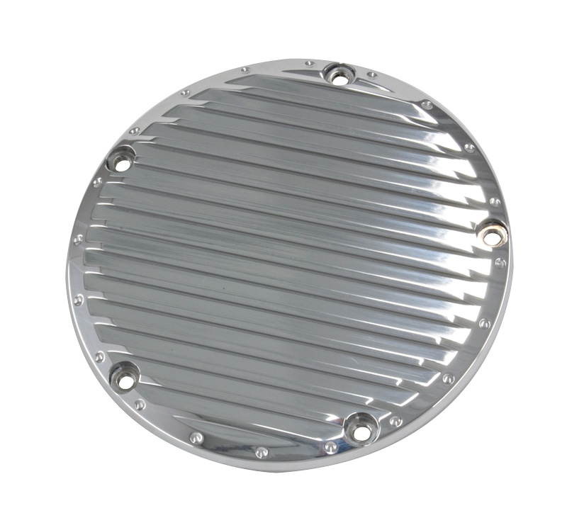 R&R's Billet T.C.® Derby Cover (Straight Ribbed)