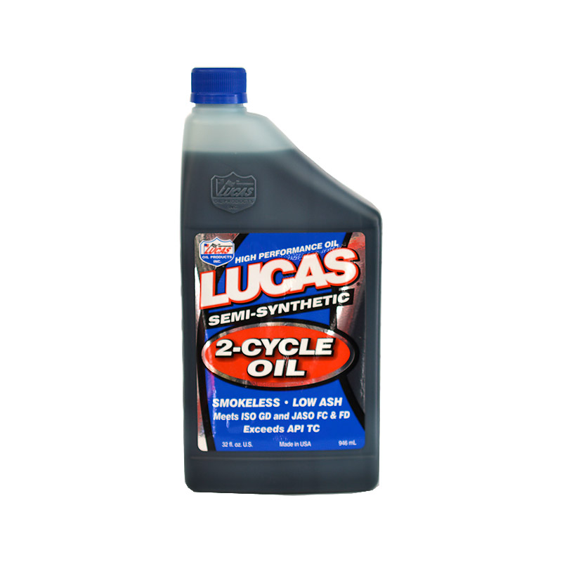 LUCAS SEMI SYNTHETIC 2-CYCLE OIL 1qt