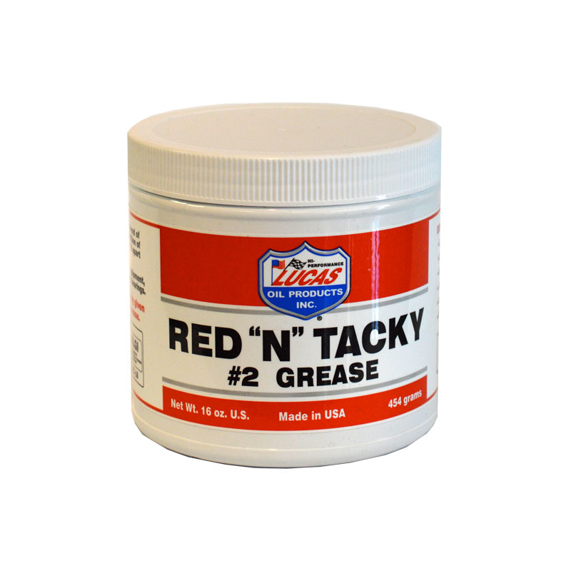RED 'N' TACKY GREASE 1lbs Tub