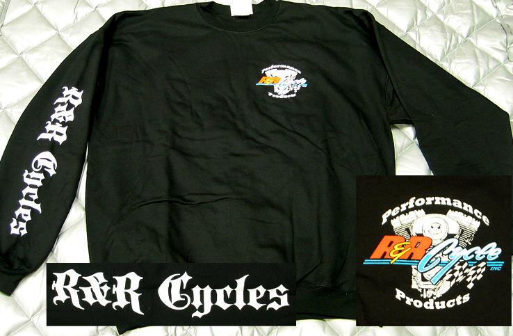 R&R Cycles Inc. Crew Neck Sweat-Shirt